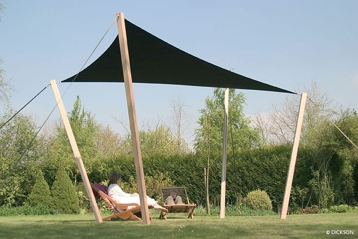 Voile d'ombrage triangulaire en stock Dickson Orchestra