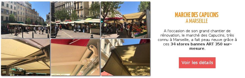 Pose de stores sur mesure monoblocs ART350 a Marseille par Ici Store