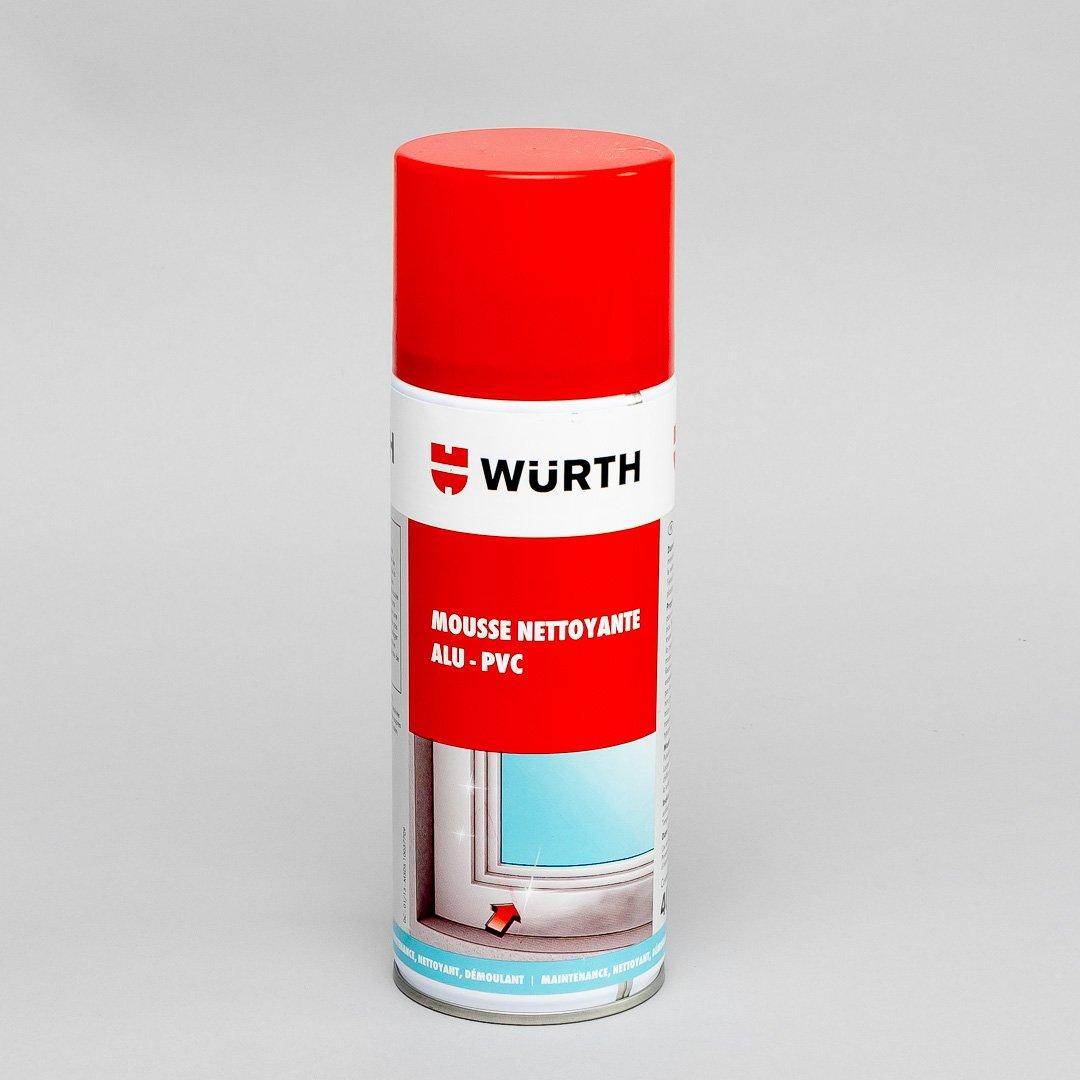 Mousse nettoyante Würth pour le rentoilage de store banne