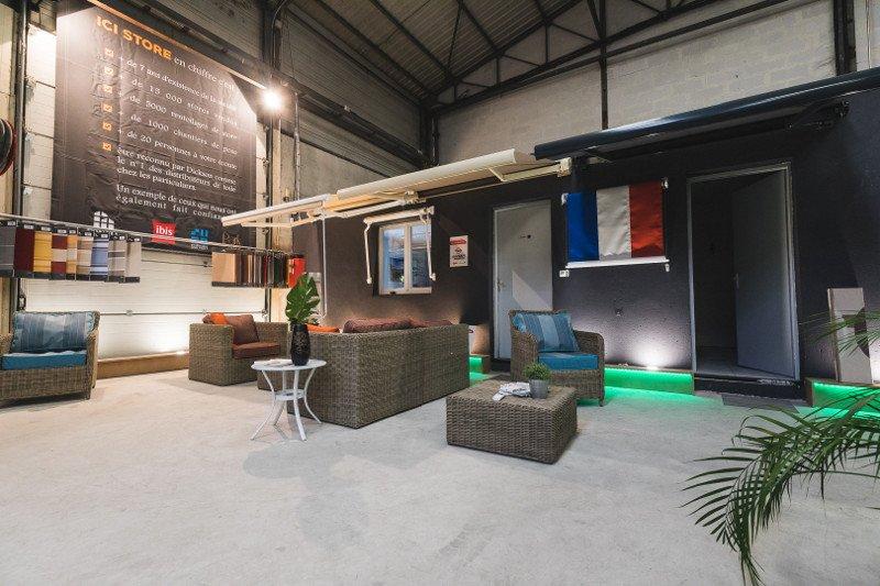 Le show room de notre usine Ici Store
